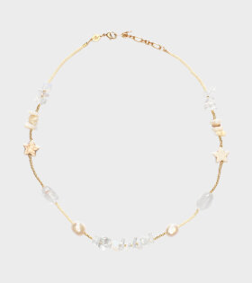 Anni Lu Colette Necklace Ice Crystal White - dr. Adams