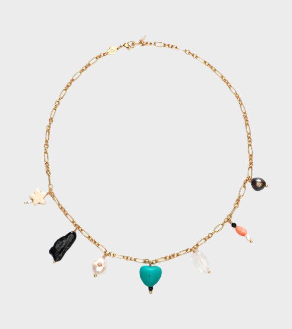 Anni Lu - Vanessa Necklace Gold Multi