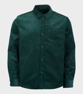 A.P.C Surchemise Marc CODEF Shirt Green - dr. Adams