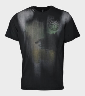 Hand Painted T-shirt Black