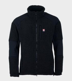 66 North Tindur Technical Shearling Jacket Black - dr. Adams