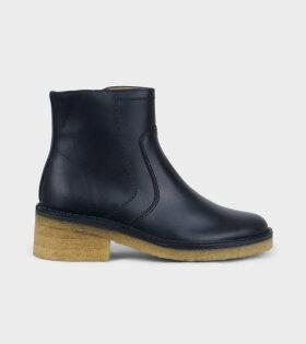 A.P.C Boots Armelle Noir Black - dr. Adams