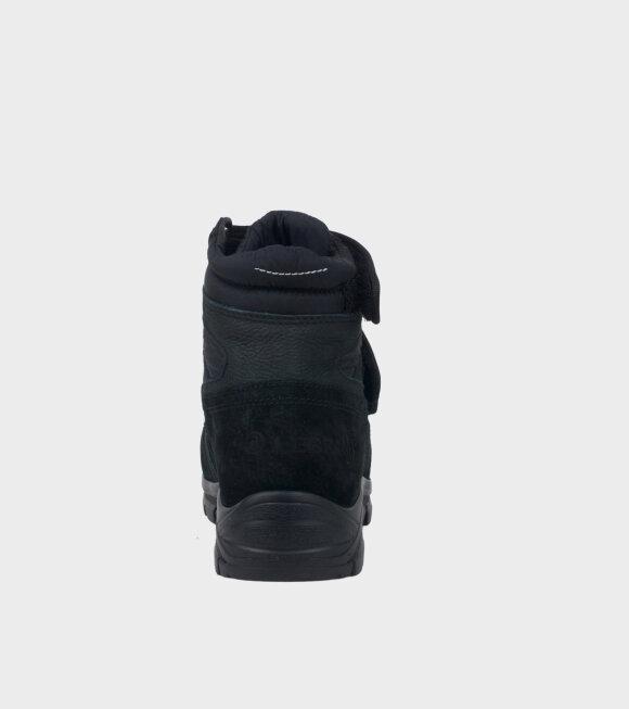 MM6 Maison Margiela - Velcro Boots Black