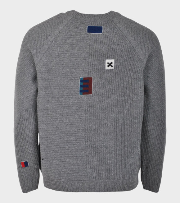 Paul Smith - Longsleeved Pullover Crew Neck Grey