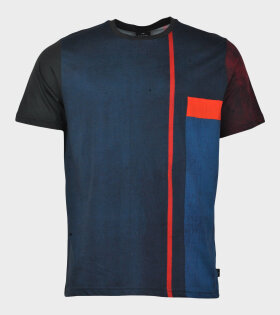 Paul Smith Mens SS Reg Fit T-shirt Blue - dr. Adams