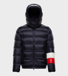 Moncler BERRETTO Jacket Blue - dr. Adams
