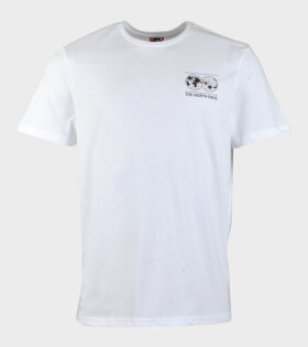 The North Face Graphic Tee T-shirt White - dr. Adams