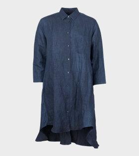 Munderingskompaniet RDS Cotton Shirtdress Dark Navy - dr. Adams