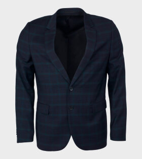 Paul Smith Mens Jacket Fully Lined Blue - dr. Adams