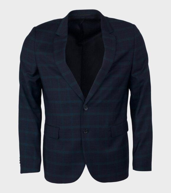 Mens Jacket Fully Lined Blue