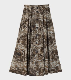 Maxi Skirt Tiger's Skirt Brown
