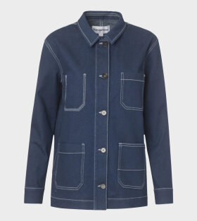 Tomorrow Lincoln Jacket Denim Blue - dr. Adams