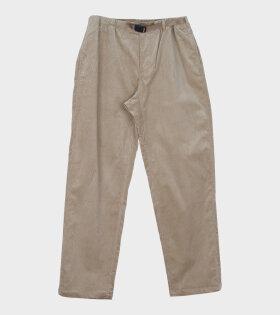 GRAMICCI CORDUROY GMP Trouser Beige - dr. Adams