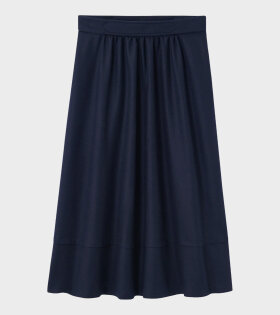 A.P.C Jupe Margaux Skirt Dark Navy - dr. Adams