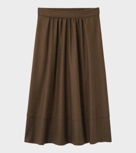 A.P.C Jupe Margaux Marron Skirt Brown - dr. Adams