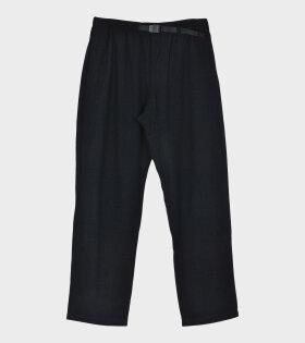GRAMICCI WOOL BLEND Trousers Blue - dr. Adams