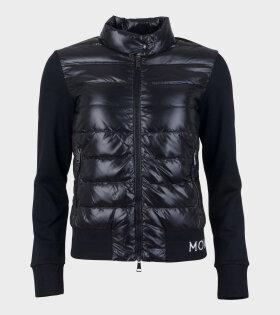 Moncler MAGLIA CARDIGAN Jacket Black - dr. Adams