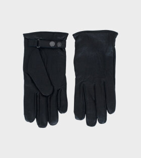 Hestra ELDNER Gloves Black - dr. Adams