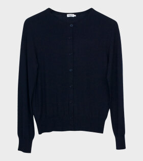Filippa K Merino Short Cardigan Black - dr. Adams