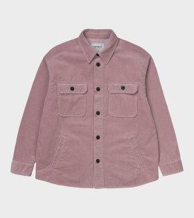 Carhartt WIP W' Erie Shirt Pink - dr. Adams