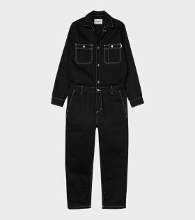 Carhartt WIP W' Manton Overall Black - dr. Adams
