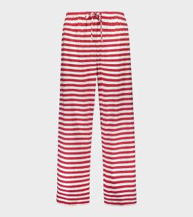 Marimekko Hijainen Trousers Red - dr. Adams
