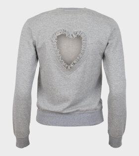Comme Des Garçons Girl Ladies' T-shirt Grey - dr. Adams