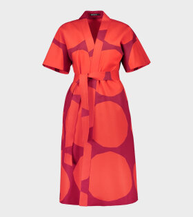 Marimekko Kiehtova Kivet Dress Red - dr. Adams