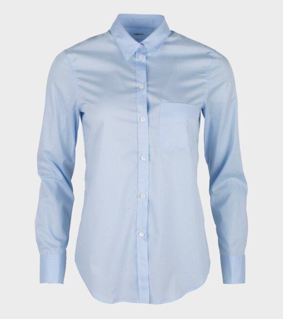 Classic Stretch Shirt Light Blue