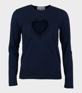 Comme Des Garçons Girl Ladies' Shirt Navy - dr. Adams