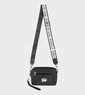 Athen Nylon White & Black Strap