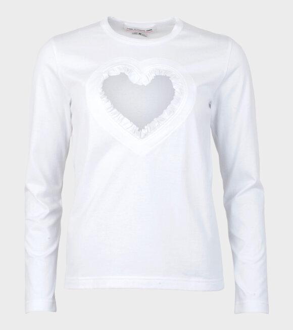 Comme des Garcons Girl - Ladies' T-shirt White
