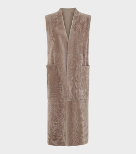 Remain Rosie Waistcoat Brown - dr. Adams