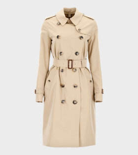 Burberry Kensington Long Honey Jacket