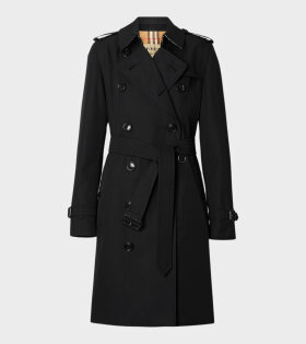 Burberry Kensington Cu Black Jacket