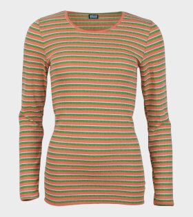 101 Rib Orange/Green
