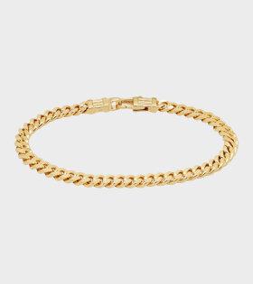 Curb Bracelet Gold