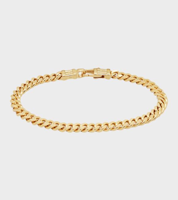 Tom Wood - Curb Bracelet Gold