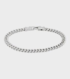 Curb Bracelet Silver