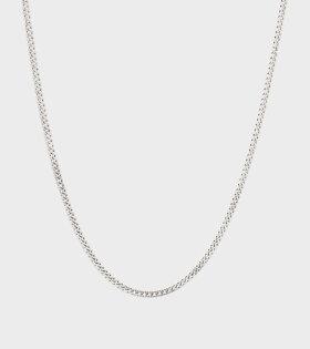 Curb Chain Silver M