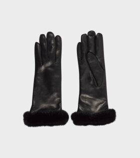 Emma Leather Glove Black