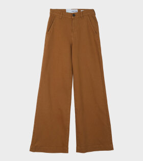 Tomorrow - Kersee High Waisted Wide Leg Trouser Brown