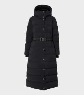 Eppingham Belted Puffer Black