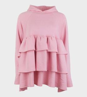 Sofia Hoodiedress Bright Pink