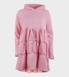 Ada Hoodiedress Bright Pink