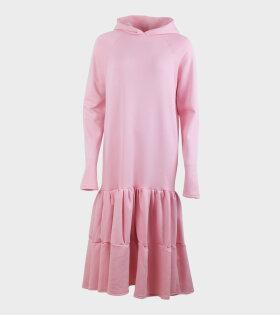 Isla Hoodiedress Bright Pink