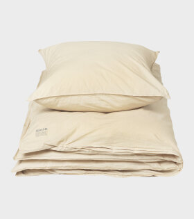 Organic Duvet Set Sahara Yellow