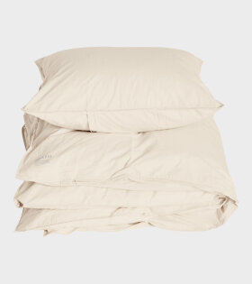 Organic Duvet Set Oxford Beige