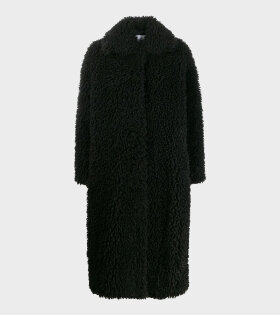 Leah Coat Black