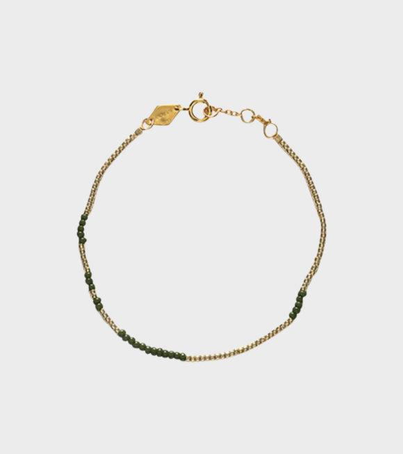 Anni Lu - Asym Army Bracelet Green
